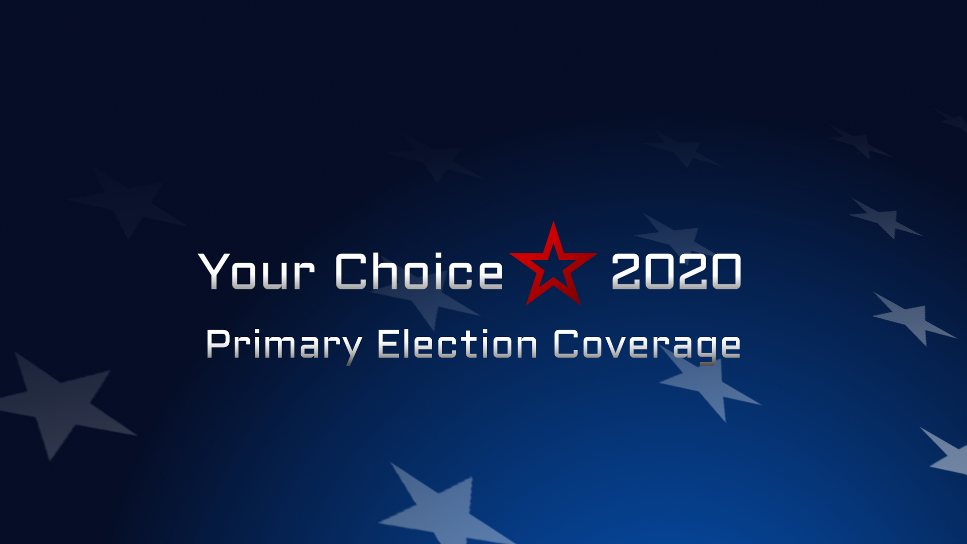 Your Choice 2020: Candidate Interviews