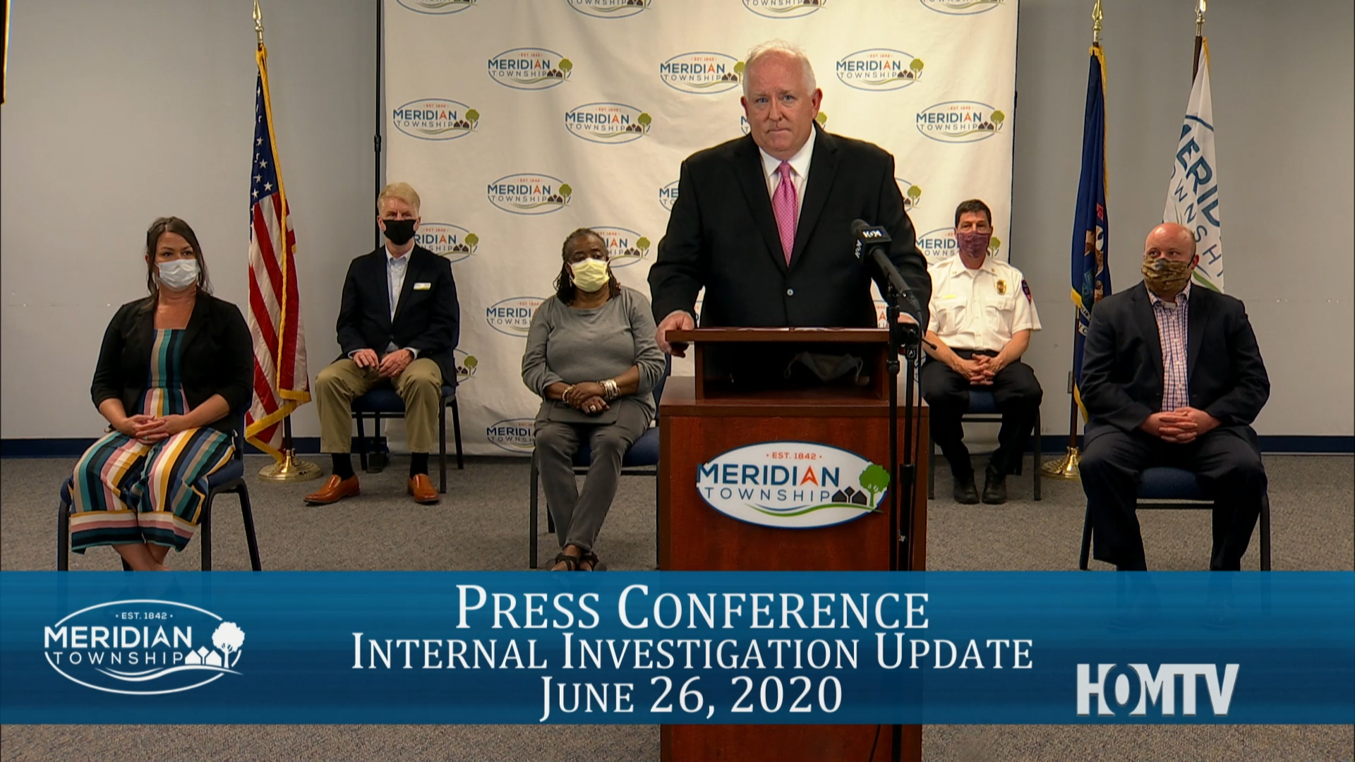 Live Coverage: Meridian Township Internal Investigation UPDATE Press Conference