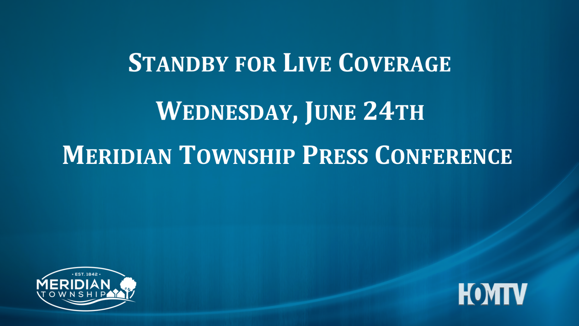 Live Coverage: Meridian Township Internal Investigation Press Conference