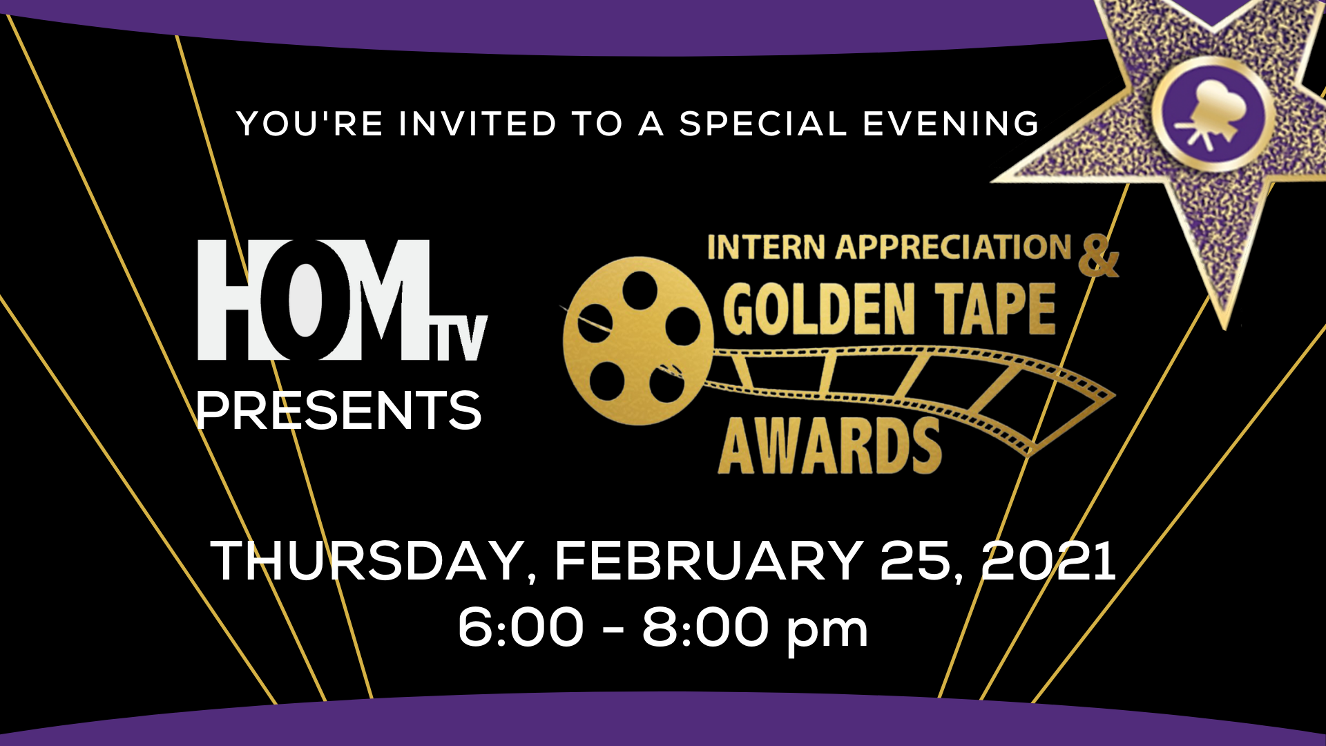 Intern Appreciation & Golden Tape Awards Ceremony