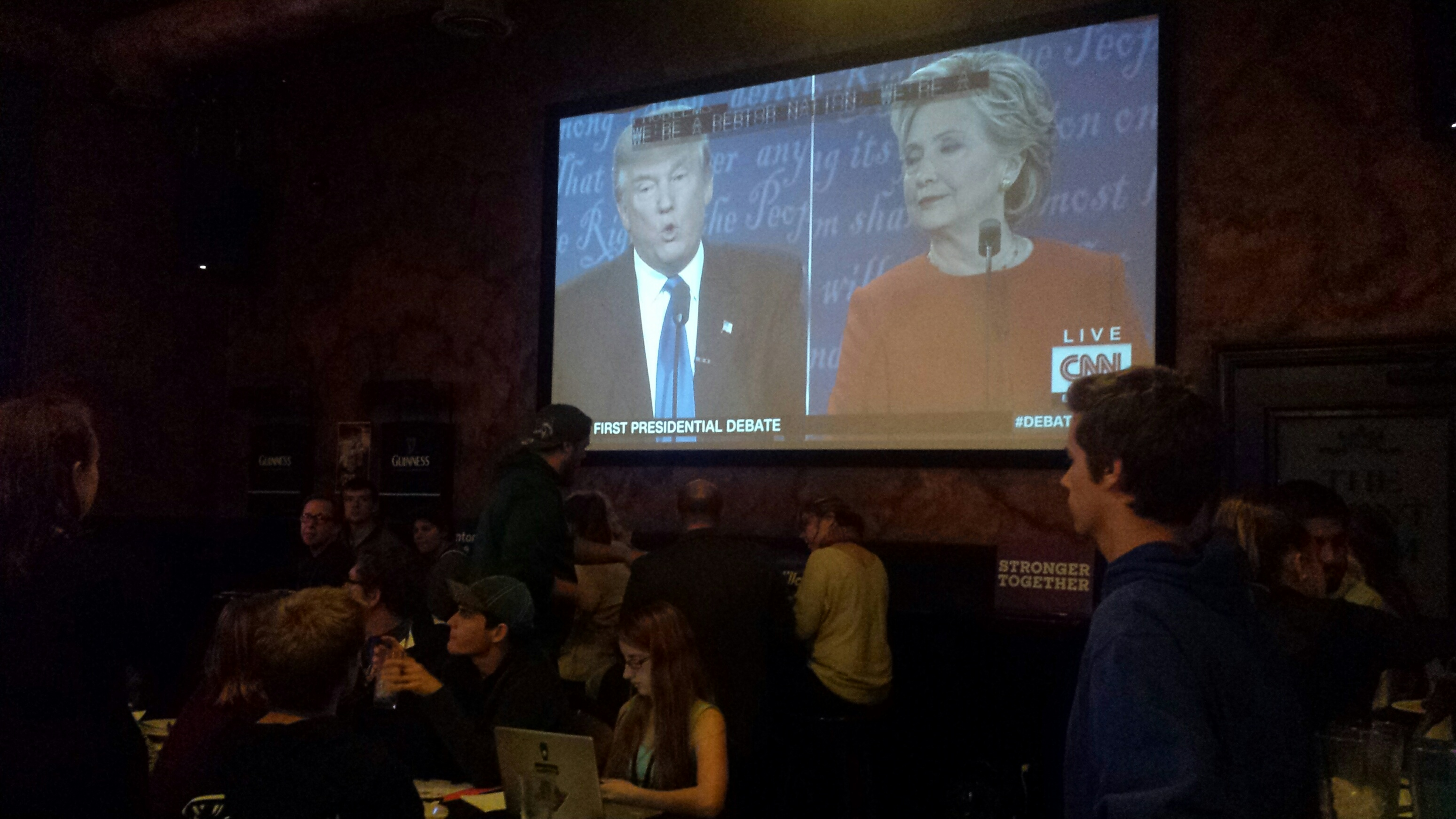 Locals React to Presidential Debate