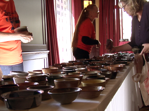 Greater Lansing Food Bank's 25th Annual  Empty Bowls Event
