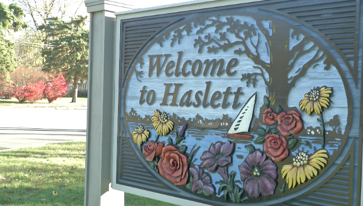 Haslett Beautification Association Celebrates 10th Anniversary with New Welcome Sign