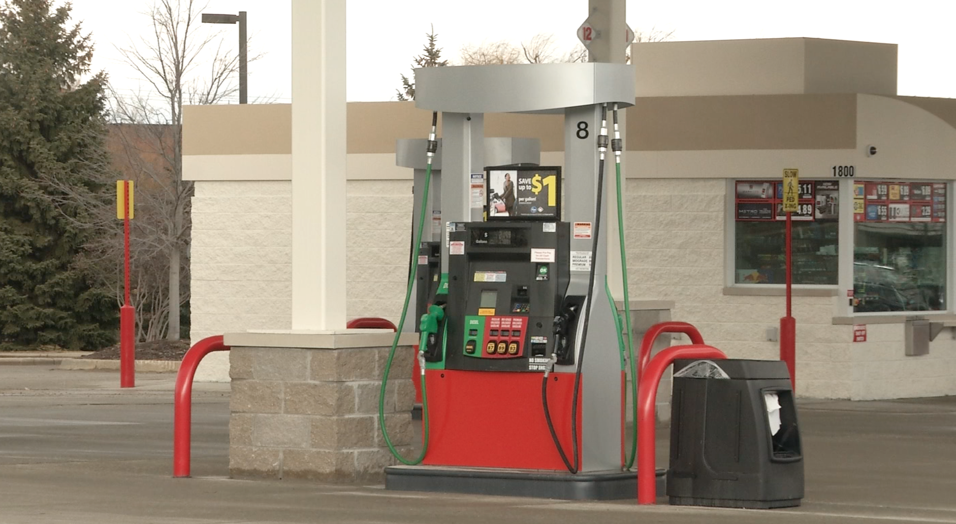 New Kroger Gas Station Homtv Meridian Township Michigan