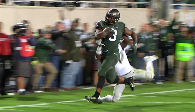 Michigan State Holds On, 31-28, Over 