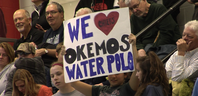 Okemos Water Polo Splashes to Strong 