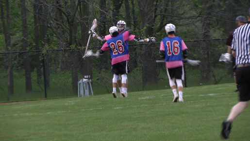 Okemos Boys Lacrosse Fights Cancer and 