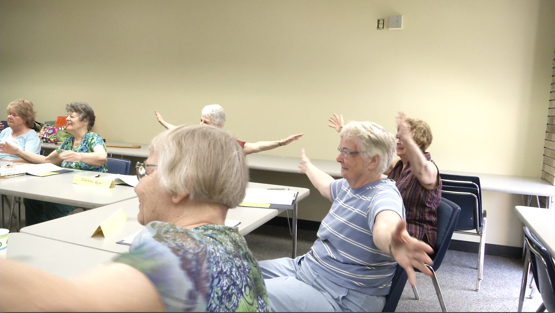 Workshop Helps Seniors With Fear of 