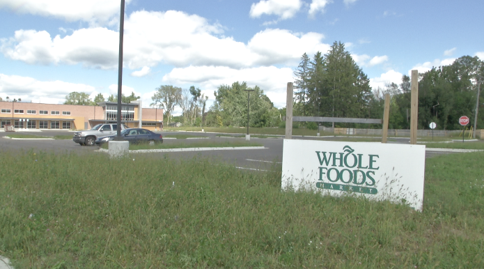 Whole Foods Construction Stalled