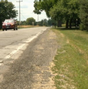 Paved Shoulders on Jolly Road In the  Works to Improve Safety for Pedestrians  and Bicyclists