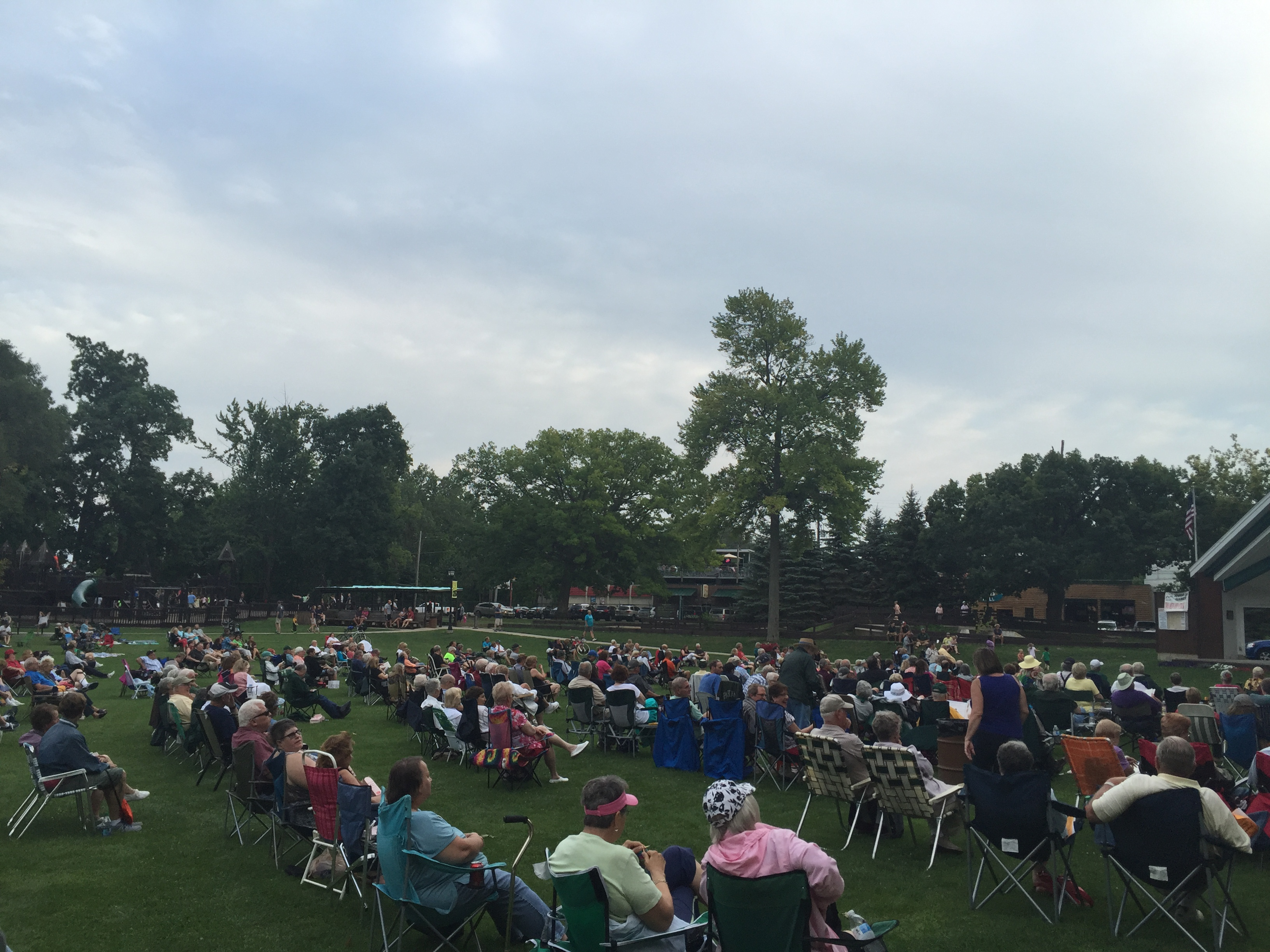 Laking Lansing Bandshell Continues To  Bring Community Together