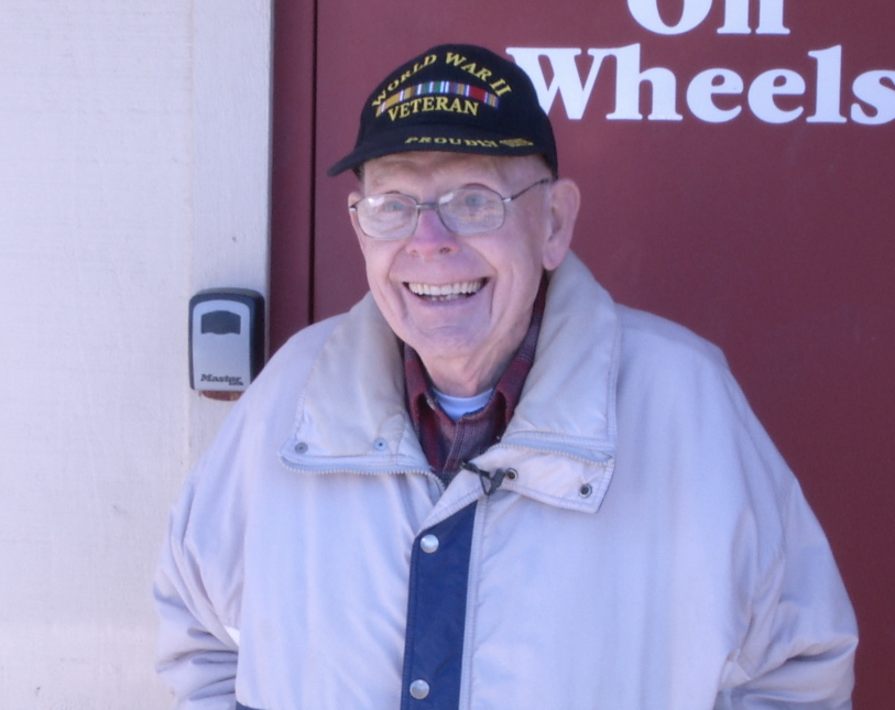 91-year-old WWII Veteran Starts 
