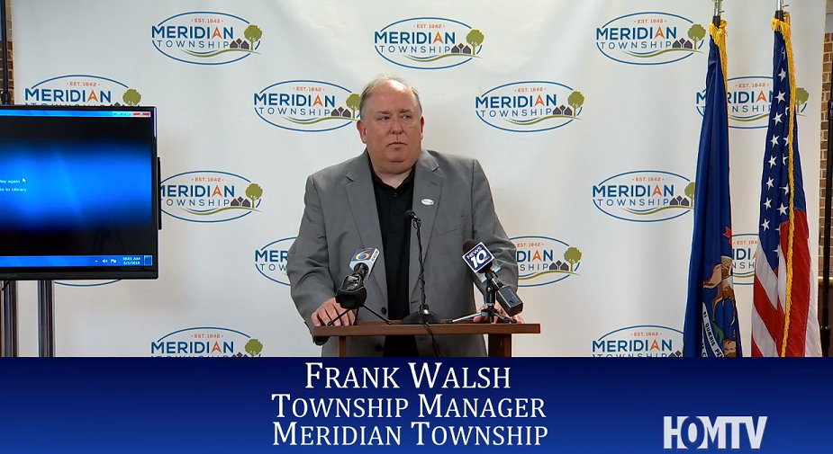 Meridian Township Press Conference: CSC Initiatives Update