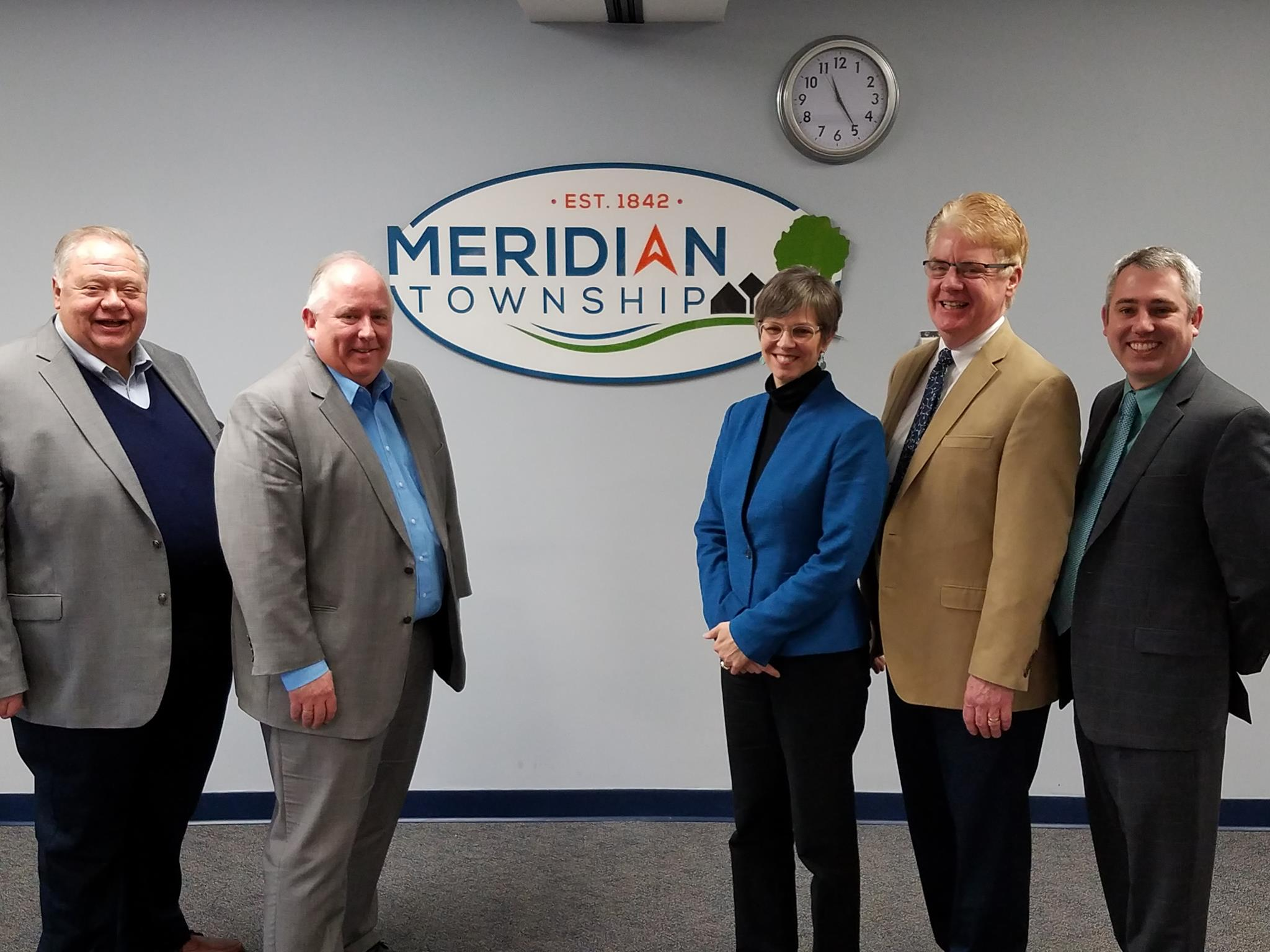 Meridian Township New Brand Launch