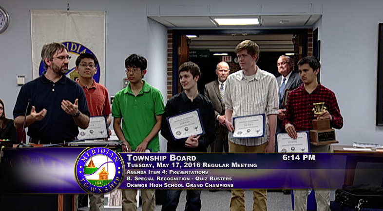 Quizbusters Champions Okemos High School 