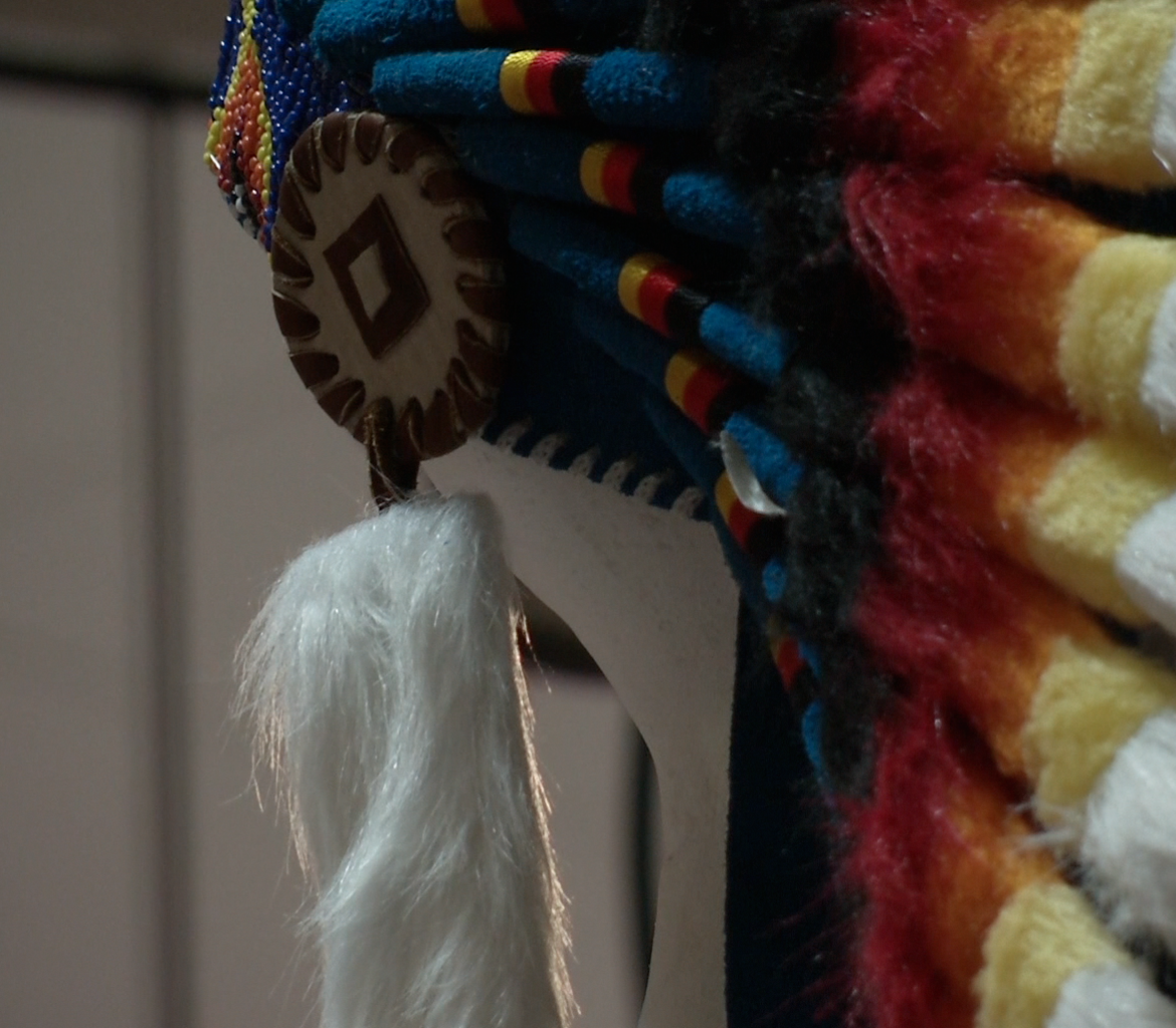 Native Feather Arts in the Meridian Mall