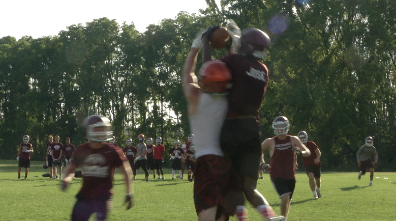 Okemos Flies High in 7on7 Scrimmage