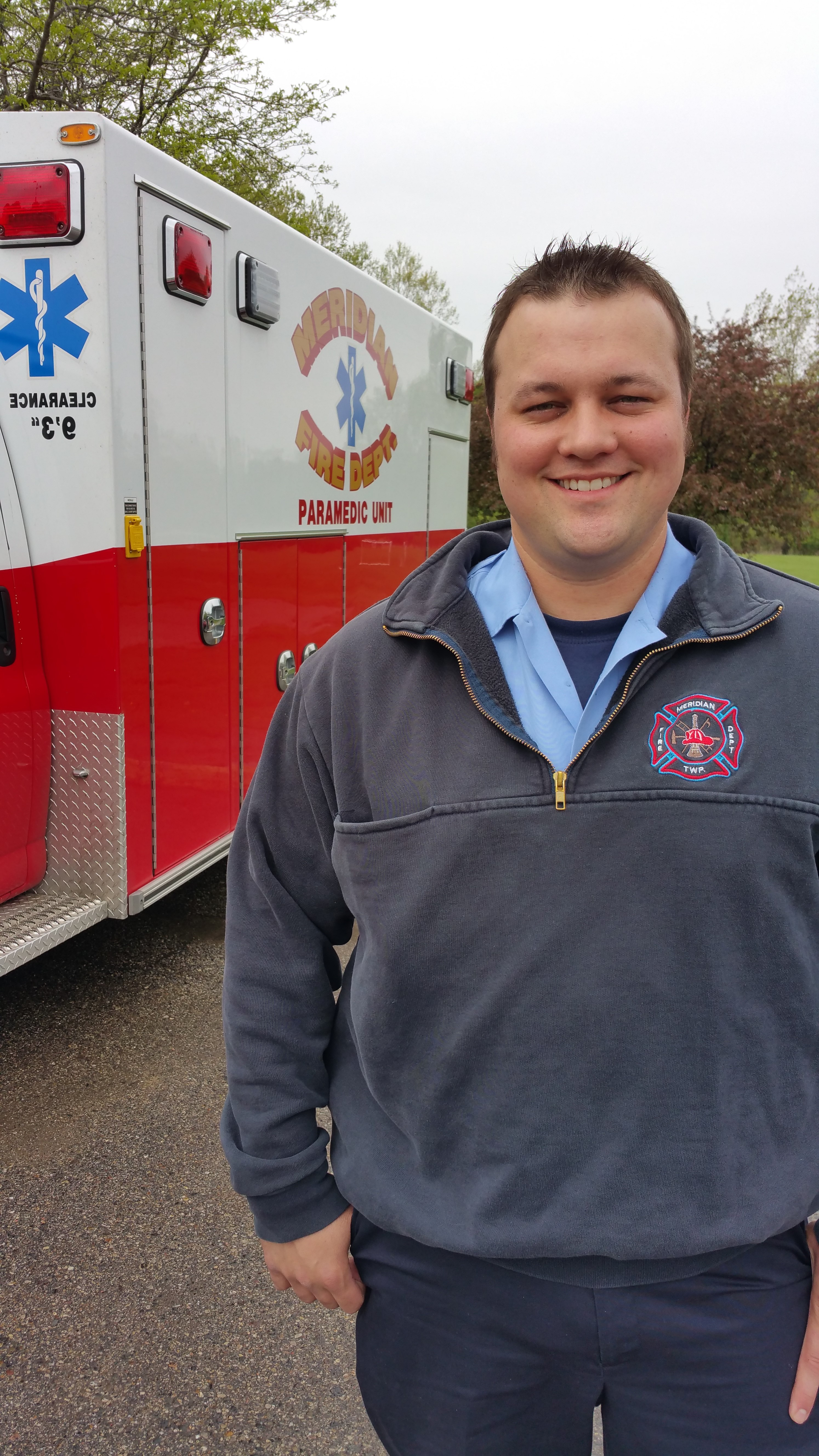 Meridian Firefighters Go Beyond Search 