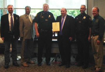 Meridian Township Recognized for Efforts  