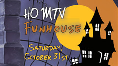 HOMTV Celebrates Halloween With a Studio 