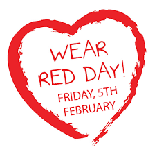 February 5th is National Wear Red Day