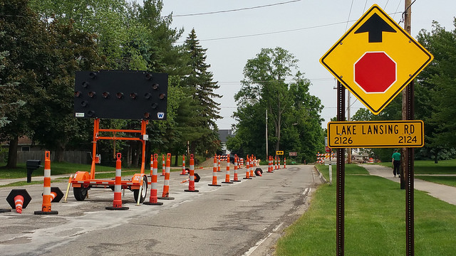 Lake Lansing Road Construction Expected 